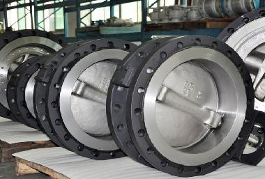 Metallisch Dichtende Absperrklappe in Stahlausführung