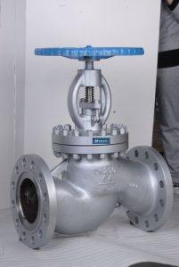DN 200 PN 64 Absperrventil in Stahlausführung, Geflanscht