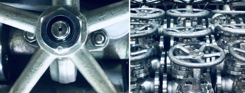 Edelstahl Handrad als Sonderlösung für Absperrschieber und Absperrventile
